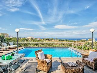 4 bedroom Villa in Stavros, Chania, Crete, Greece : ref 2215462