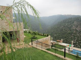 Mountain villa with swimming pool, Mazboud