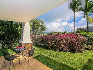 Ground Floor Condo with Privacy Garden & Mountain Views!