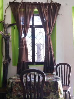 Jungle Room, large windows provide lots of natural light