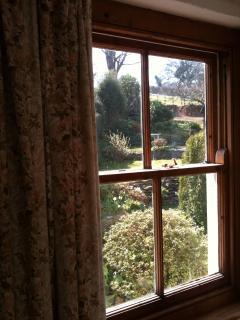 Back bedroom - view to garden