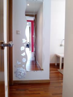 entrada habitación suite