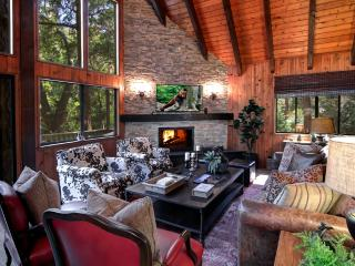TREETOP CABIN | LUXURY 3BD/2BA, SLEEPS 8, BEAUTIFUL DECOR, DOCK, IN VILLAGE