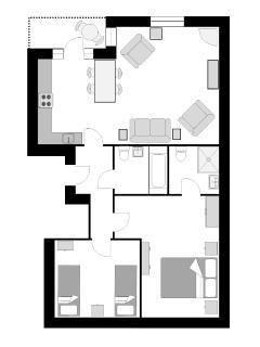 The Manacles floor plan