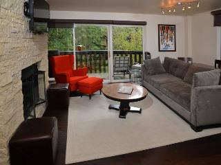 Living room with queen sofa sleeper