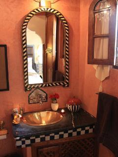Salle de bain chambre Chocolat