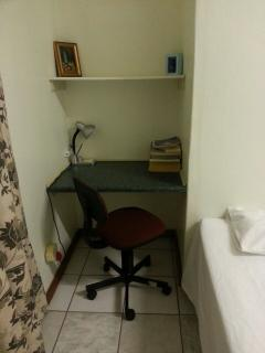 Study area with fast wifi internet connection