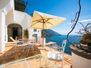 Villa Talia, in the heart of Positano