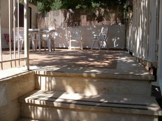 accesso alla veranda