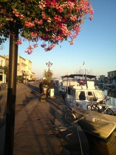 Marseillan, on the lagoon 15 minutes for Abeilhan. Great spot for amazing seafood