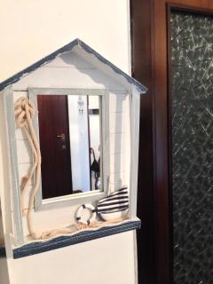 Particolare: specchio