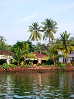 A view of Villa 'Siesta' from the river