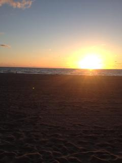 Ocean sunrise!