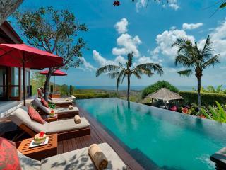 Villa Capung Uluwatu Bali lux 3bdrm stunning views, Jimbaran