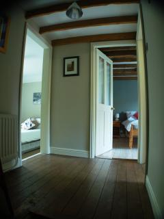 Matchbox Cottage; upstairs landing