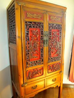 Old Chinese or Thai furnitures.
