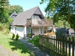 HILLSIDE, pet-friendly lodge, use of pools, sauna, tennis, near Gunnislake, Ref 17180