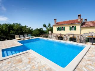 Autenthic Istrian Vacation stone house with pool