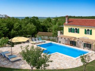 Autenthic Istrian Vacation stone house with pool, Labin