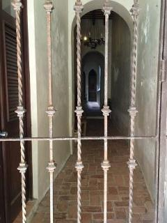ENTRANCE IRON GATES