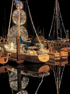 Festival of Lights in the Marina