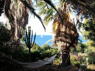 Sea side villa in the mediterranean garden, Solanas