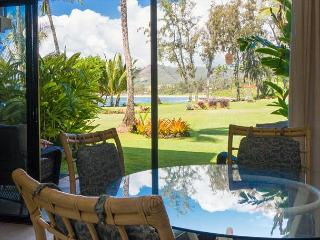 Lae Nani 314: Fabulous ocean view 1br/1ba, steps to sand, pool and tennis, Kapaa