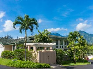 Villas of Kamalii 46: a/c, mountain/golf course views, easy to beach/shopping, Princeville