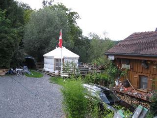 Swissyurt die spezielle Übernachtung für Romantike, Bischofszell