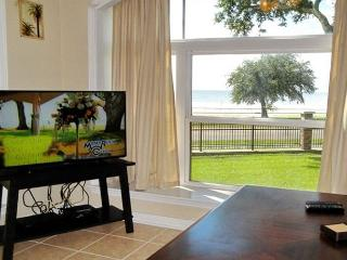 2 bedroom 2 1/2 bath town-home across from the beach!