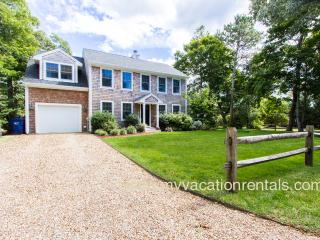 DAWKN - Exquisite Designer Home,  10 minute Walk to Oak Bluffs Town Center,  Screened Porch, Patio Dining Area, Landscaped Yard, Professionally Decorated, AC