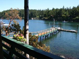 Afterglow Cottage - a Cozy Waterfront Cottage Near Roche Harbor with 50' Dock!