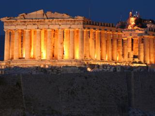 In the shadows of Acropolis..
