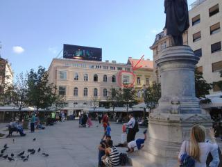 Exclusive view Cvjetni trg Zagreb