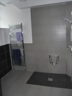 Disabled shower toilet room