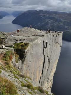 The Pulpit rock ... The apartment is the perfect startpoint for your hike into the fjords!