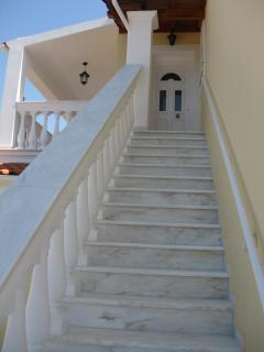 Staircase of the east Unit