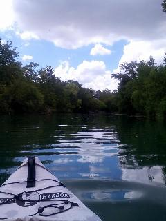 Kayaking the Guadalupe