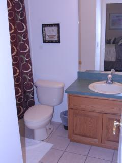 Queen's bathroom, ground floor