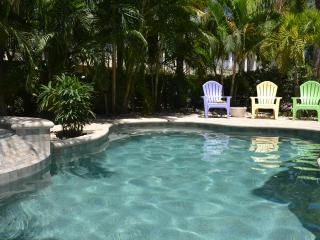 A Pearl of a Beach Home - with luxury private heated pool and hot tub