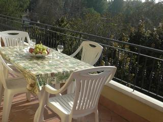 Spacious south - facing terrace. Perfect for dining al fresco!