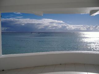 View from large verandah