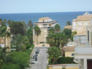 Penthouse Elegance, see view, Wifi, 200 m to beach, Denia