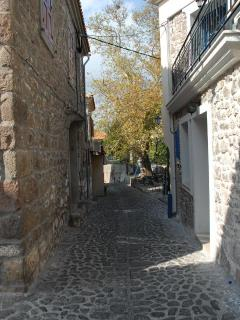 Street near the tower.
