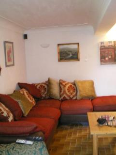 seating area in lounge