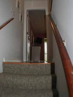 Stairs with Hand Rail on both side for added Safety and Stability
