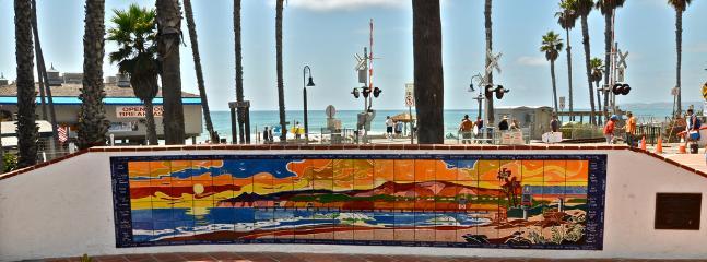 A mosaic of the beach...at the beach