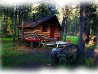 CABIN IN THE WOODS, Millarville
