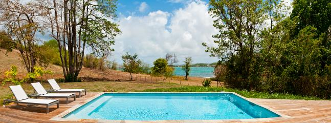 Majestic Palm Villa is less than 100m from the sea
