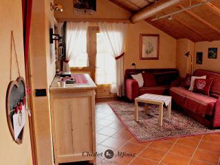 Chalet Alfonz | MANSARDA: soggiorno, living-room